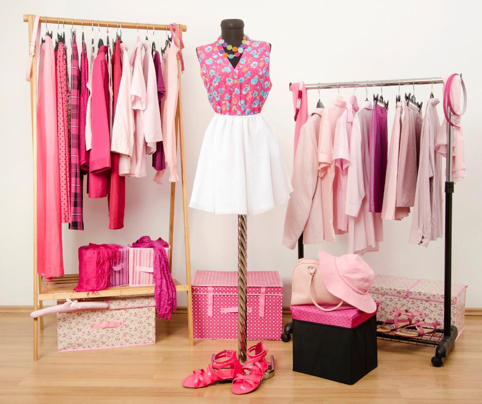 Ordna din garderob med KonMari metoden och Colour me Beautiful